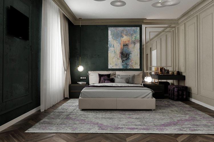 Дизайн сучасної спальні Івано-Франківськ