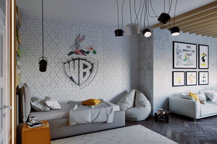 Дизайн дитячої кімнати для хлопчика вулиця Слобідська